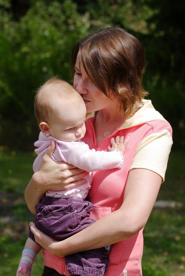 Buziak dla dziecka obraz royalty free