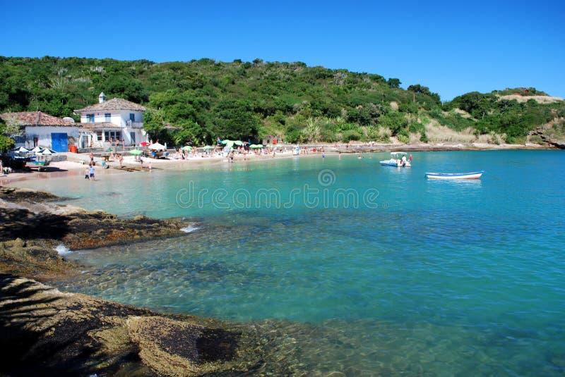 Buzios beach stock photos