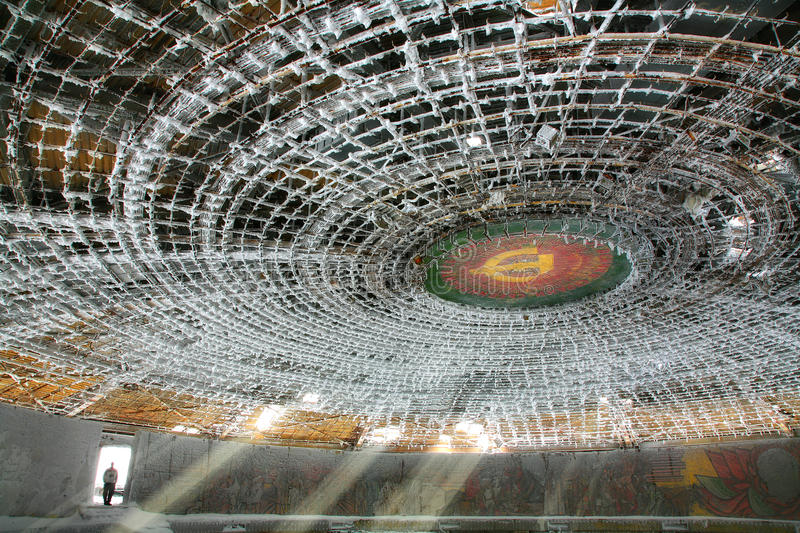 Download Buzludzha editorial photography. Image of design, bulgaria - 35602372