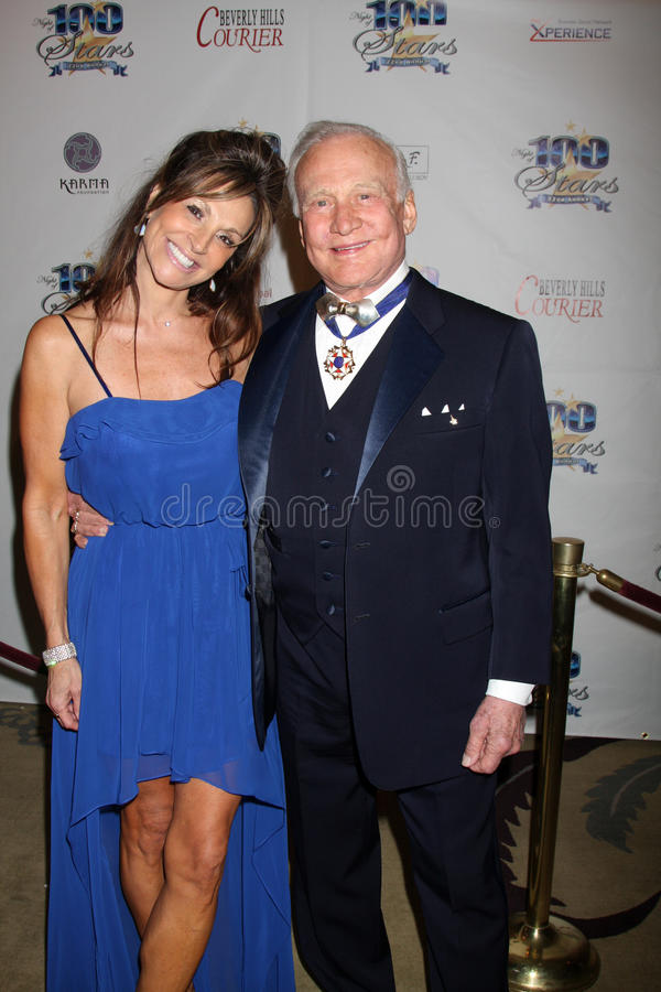 Download Buzz Aldrin, editorial stock image. Image of stars, party - 23752109