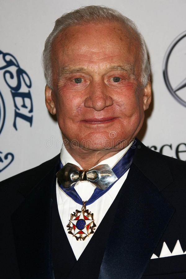 'Buzz' Aldrin. Buzz Aldrin at the 32nd Anniversary Carousel Of Hope Ball, Beverly Hilton Hotel, Beverly Hills, CA. 10-23-10 stock image