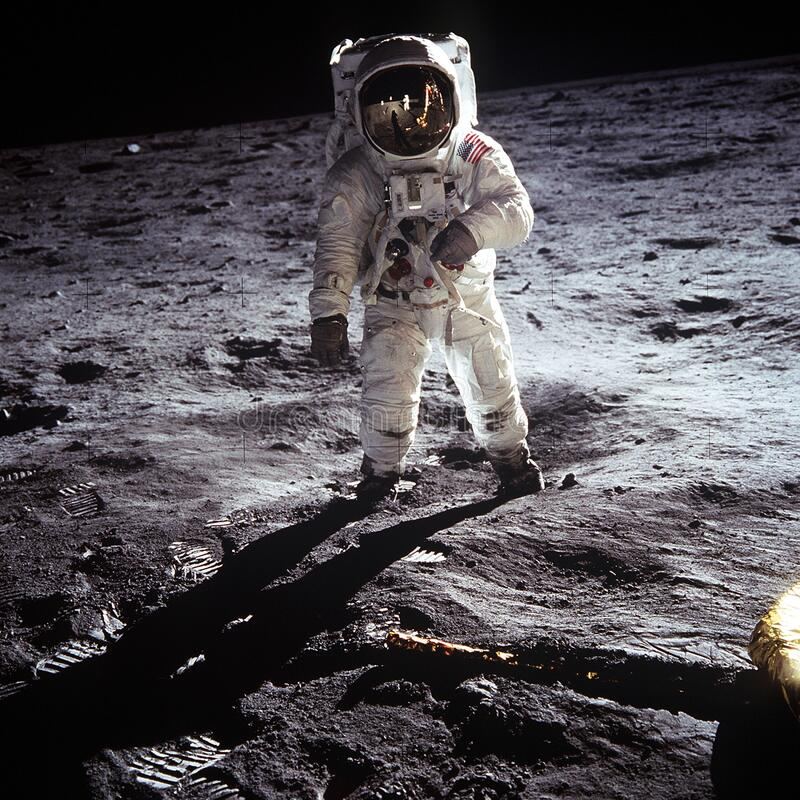 Buzz Aldrin On Moon Free Public Domain Cc0 Image