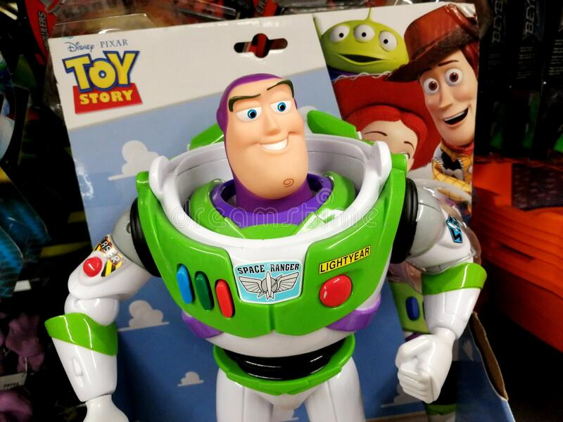Buzz Lightyear toy stock photography