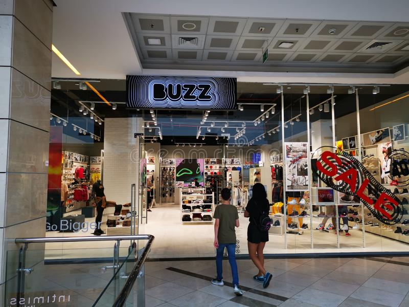 Buzz store at Afi Palace cotroceni, Bucharest, Romania. stock images