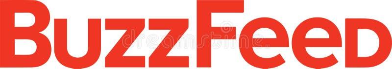 BuzzFeed logo wiadomość ilustracji