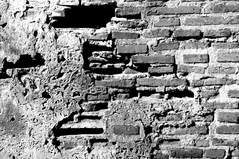 bw ściany fotografia stock