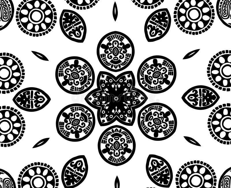 BW texture royalty free illustration