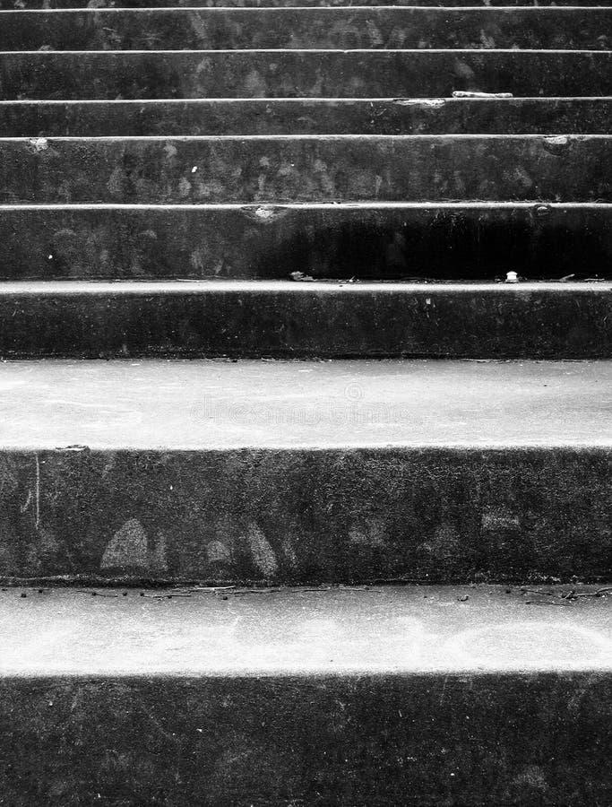 Bw-Treppenhäuser lizenzfreie stockbilder