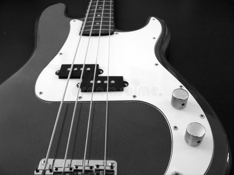 Bwguitar1 royalty free stock images