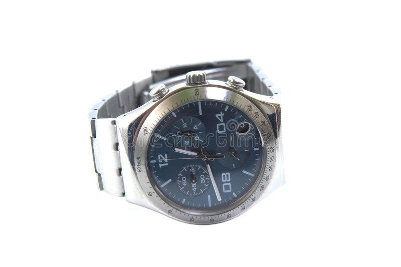 być chronograf zegarek obraz royalty free