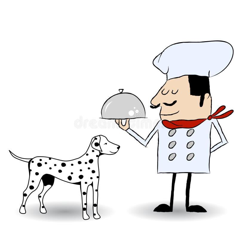 być prześladowanym jedzenie ilustracja wektor