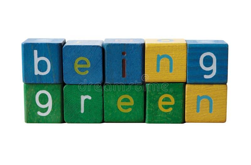 być zielone obraz stock