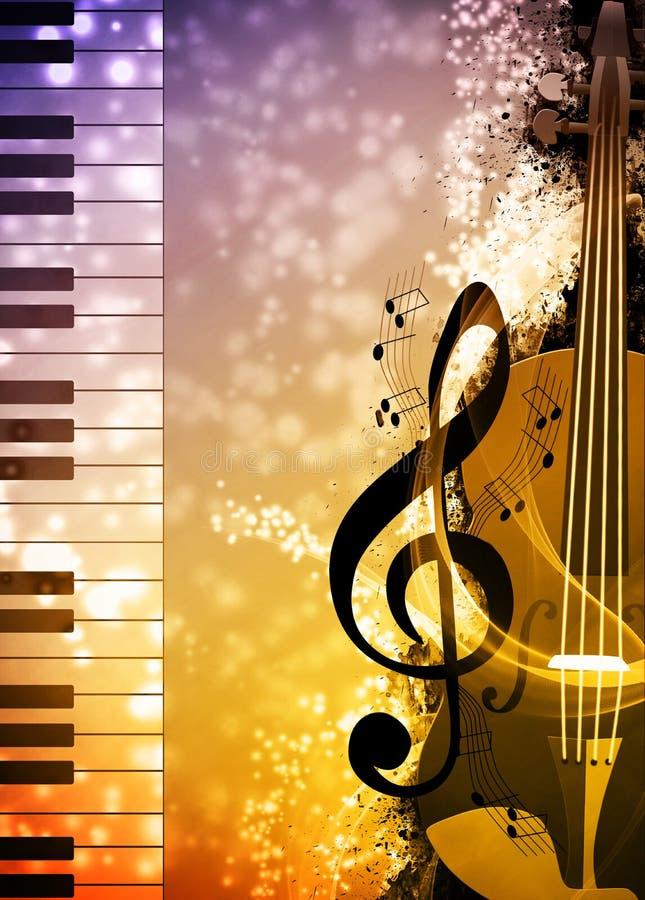 było tła można różne muzyczne ilustracyjni używane do celów royalty ilustracja