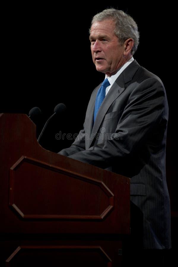 Były Prezydent George W. Bush obrazy royalty free