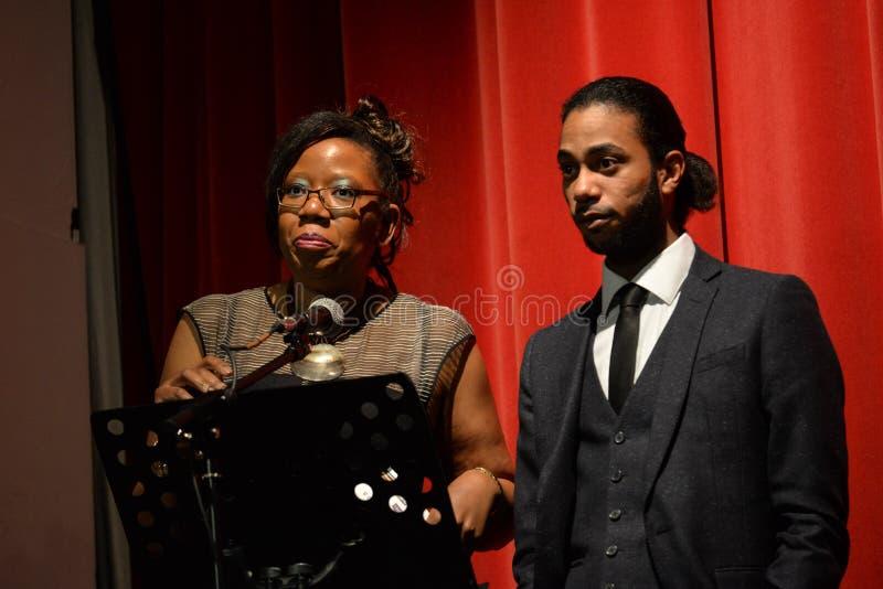 BYA attribue 2014 (des accomplissements de la jeunesse noire) à Londres image libre de droits