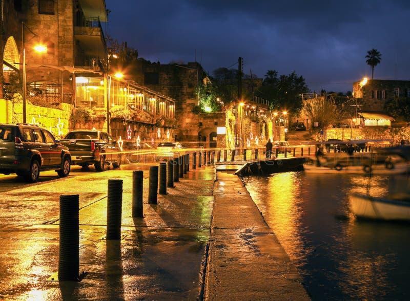 Byblos-Hafen lizenzfreie stockbilder