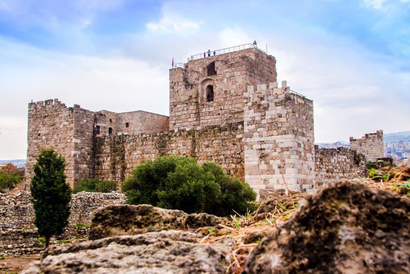 Byblos kasztel w Liban, zdjęcia stock