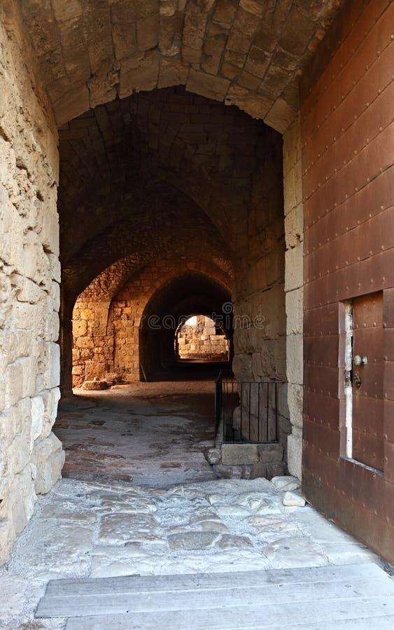 Byblos Krzyżowa Kasztel, Liban obrazy stock