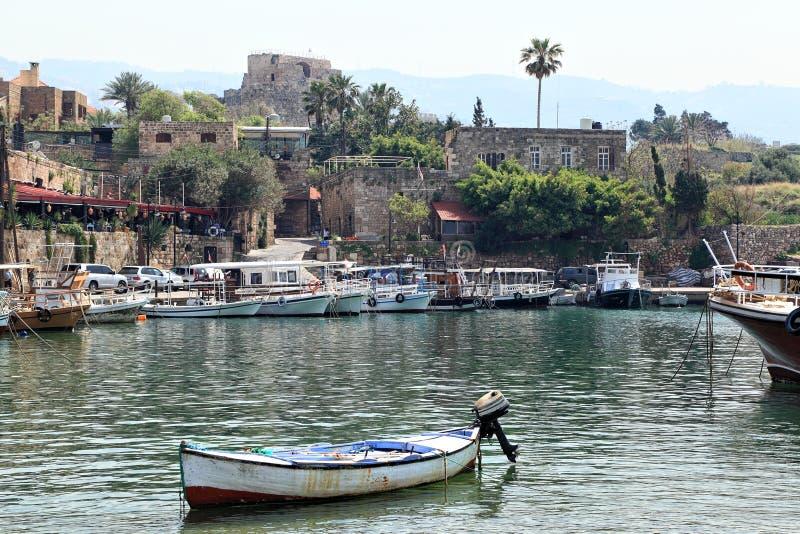 Byblos, Liban photographie stock libre de droits