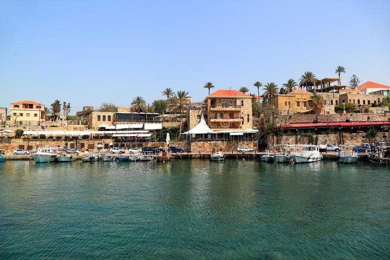 Byblos, Liban images stock