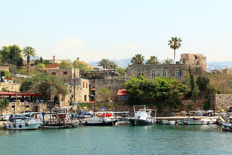 Byblos, Liban photos libres de droits