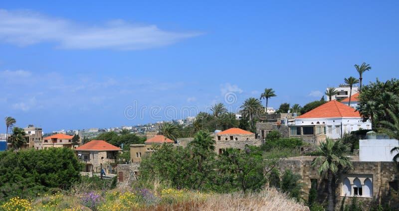Byblos, Libano fotografia stock libera da diritti