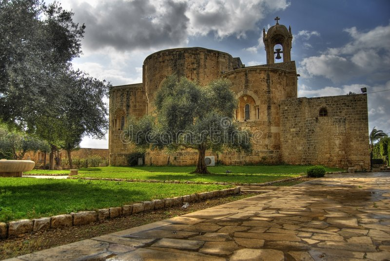 Byblos St. John's Church royalty free stock images