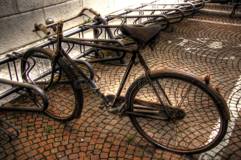 Download Bycicle stock image. Image of dynamic, oxidised, italy - 4310231