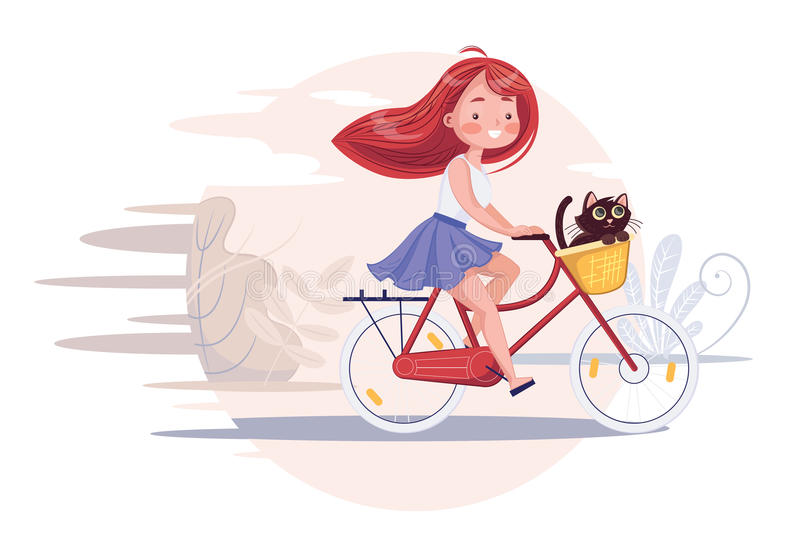 Bycicle vector illustratie
