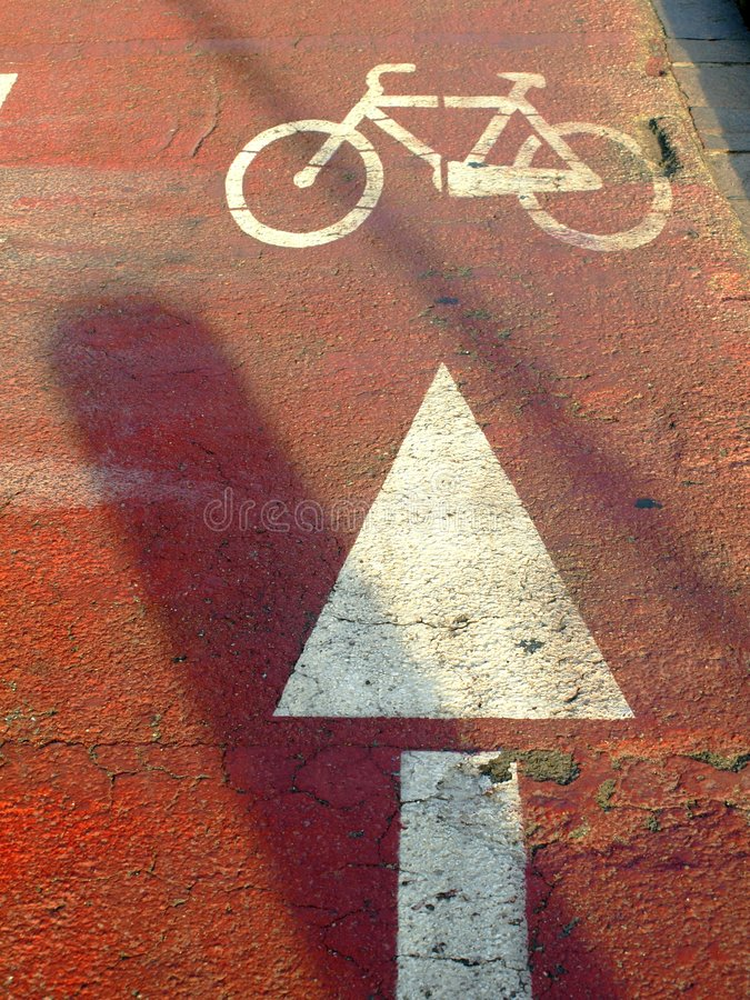 Download Bycicle Path Royalty Free Stock Images - Image: 6092779
