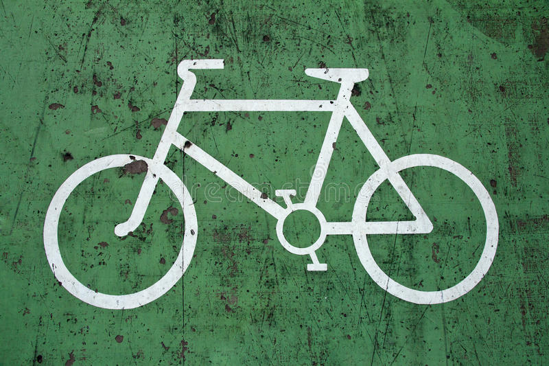 Download Bycicle sign stock photo. Image of exercise, bicycle - 20253876