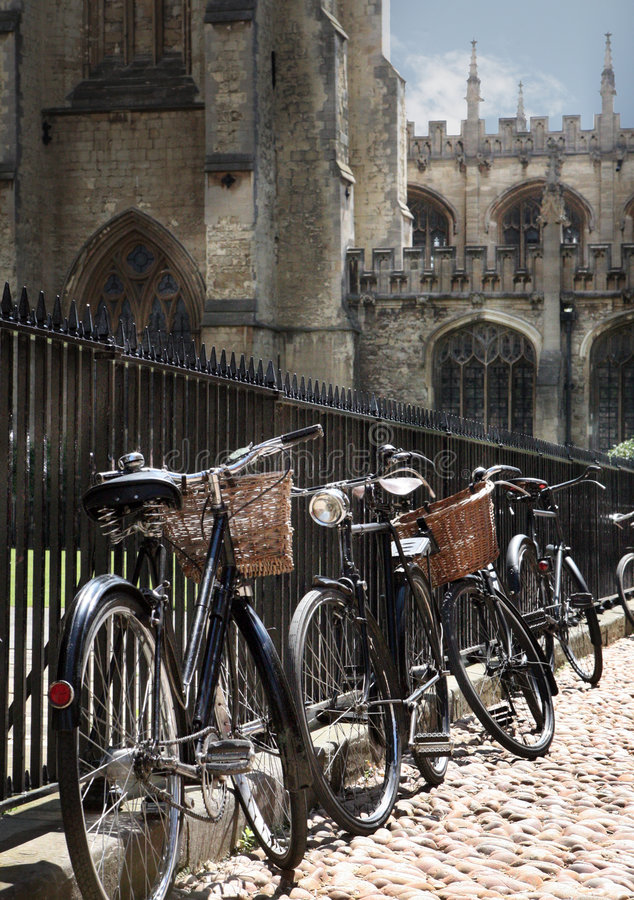 Free Bycicles In The Street Royalty Free Stock Photography - 5218007