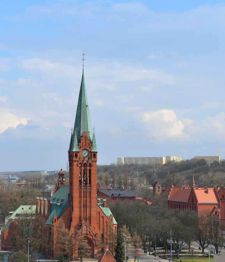 Bydgoszcz, πόλη στην Πολωνία. στοκ φωτογραφίες με δικαίωμα ελεύθερης χρήσης