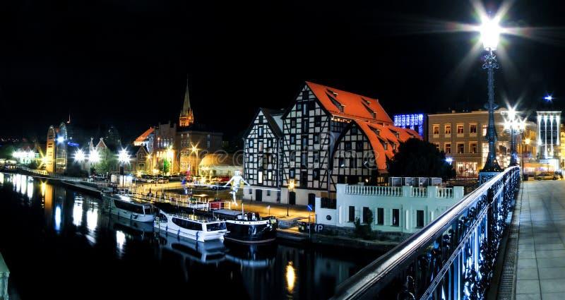 Bydgoszcz - Bridge Street stock photos