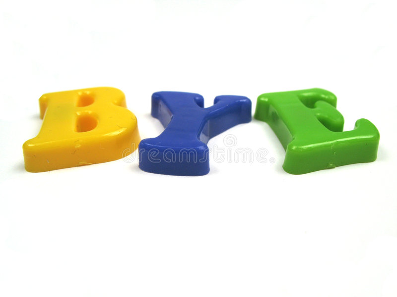 Download Bye stock photo. Image of colorfull, plastic, later, byebye - 6710182