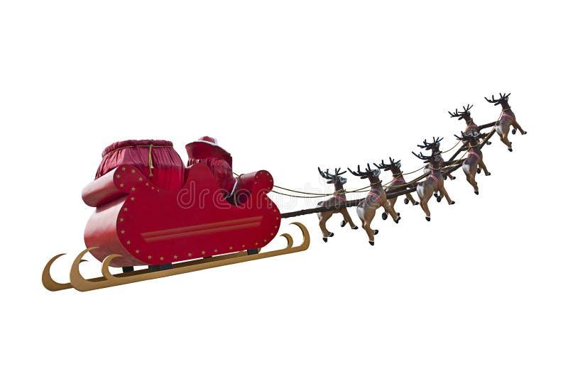 Byebye Święty Mikołaj zdjęcie stock