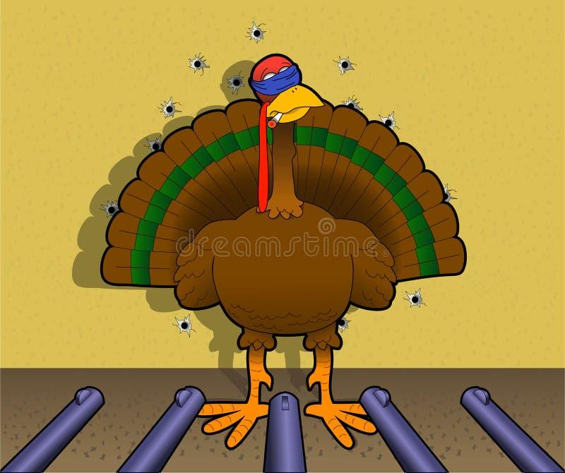 Byebye_turkey royalty-vrije illustratie