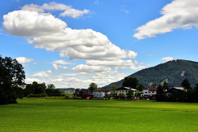 Bygd av Österrike fotografering för bildbyråer