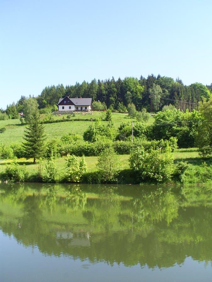 Bygd i Central Europe arkivbild