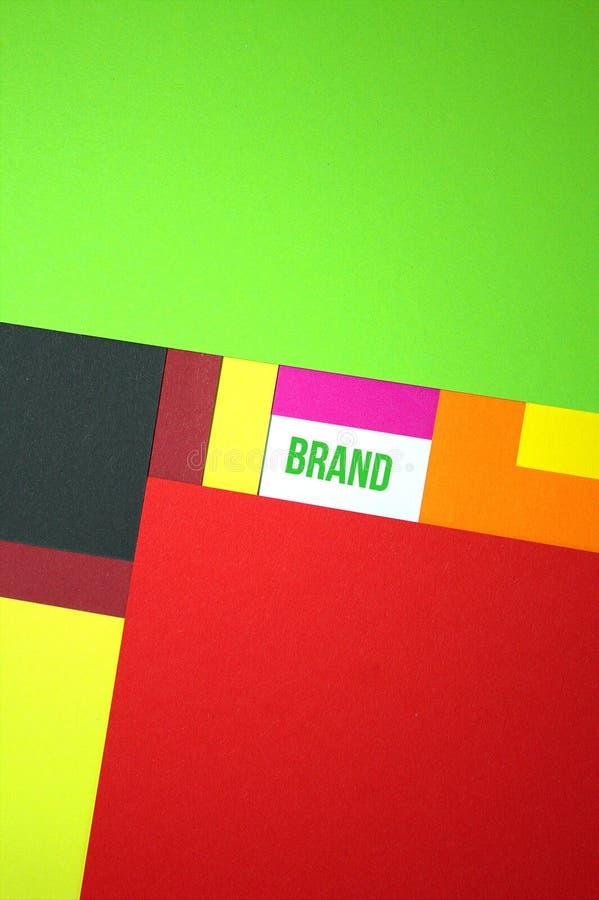 Bygg ditt märke Begrepp av märkesidéer royaltyfria foton
