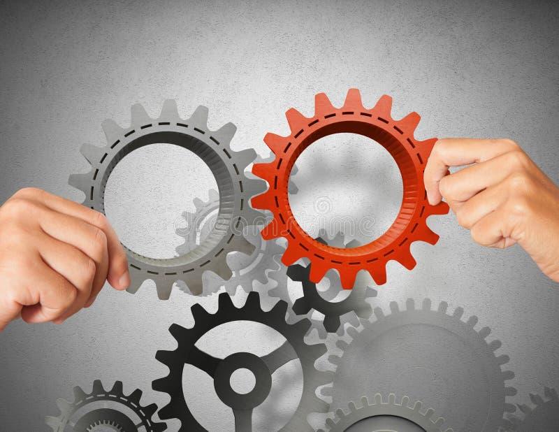 Bygg ett verksamhetssystem arkivfoton