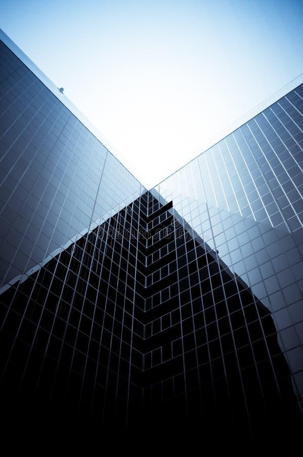 byggande företags modernt royaltyfria foton