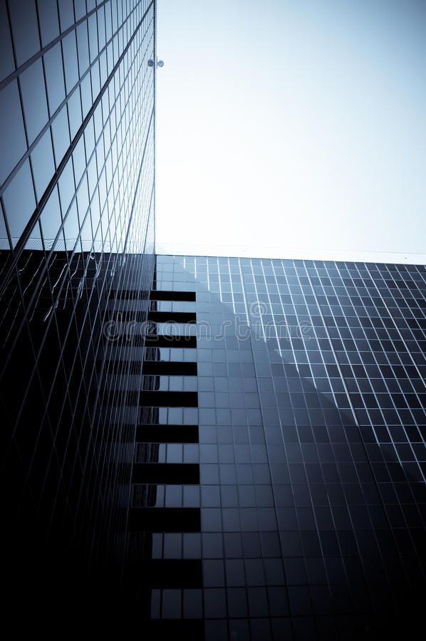 byggande företags modernt royaltyfri bild
