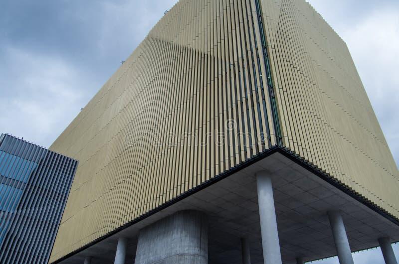 Byggande F. KR. på det Deakin universitetet arkivfoton