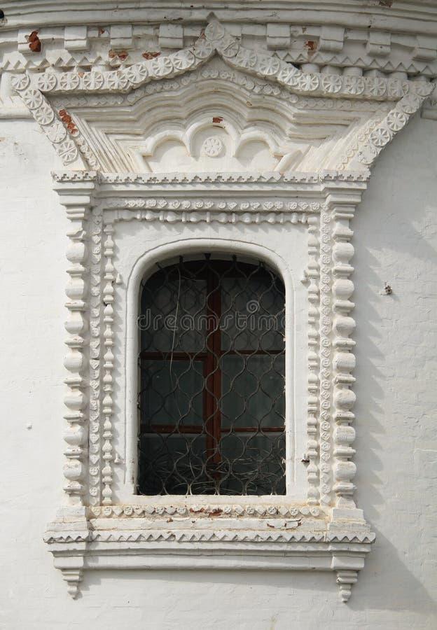 byggande gammalt fönster royaltyfri bild
