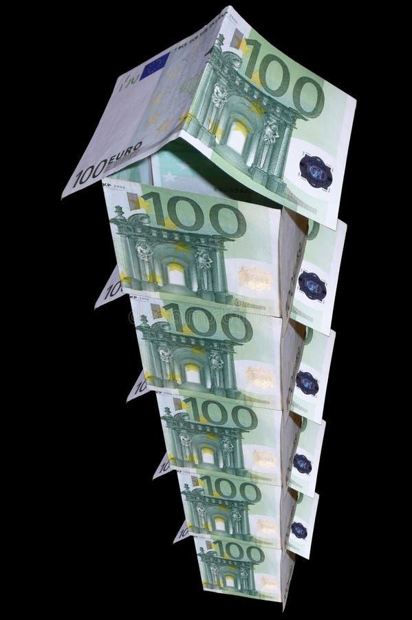 byggande hög monetär stigning arkivfoton