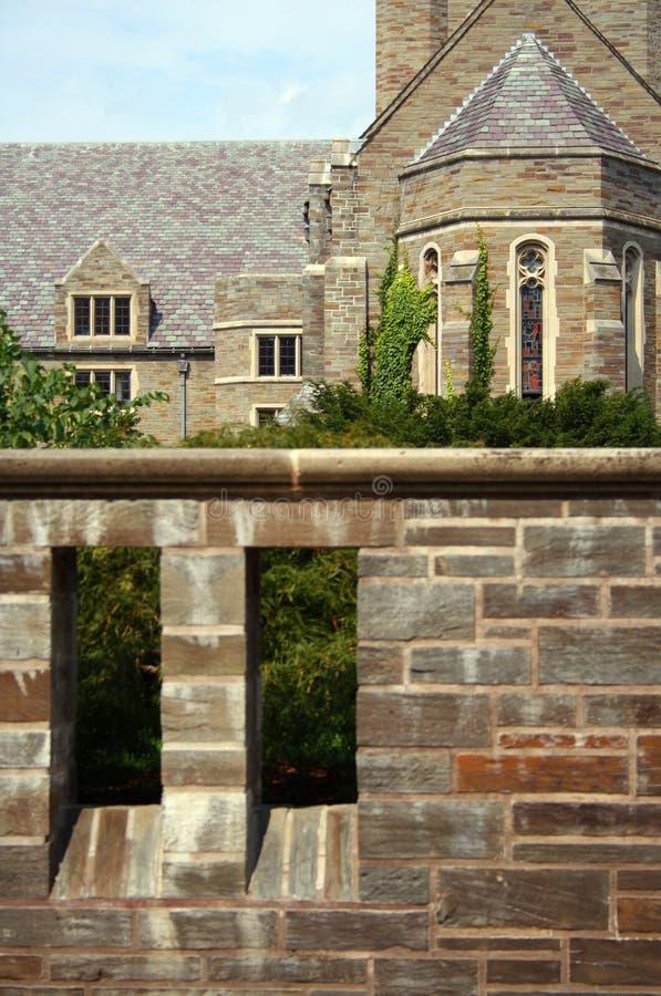 byggande kyrkligt gotiskt royaltyfri fotografi