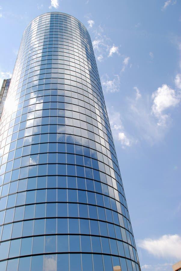 byggande sky för kontor 4 arkivfoton