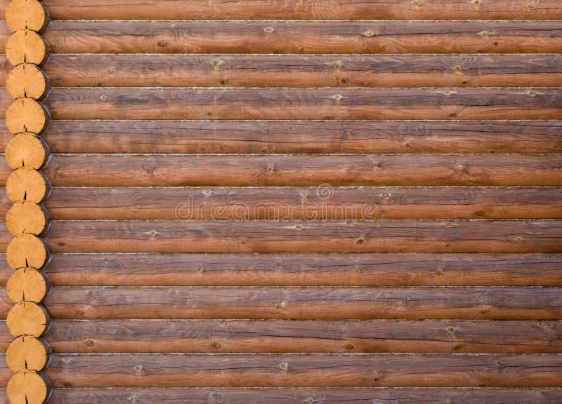byggande ytterhome trä för husjournalstruktur royaltyfria foton