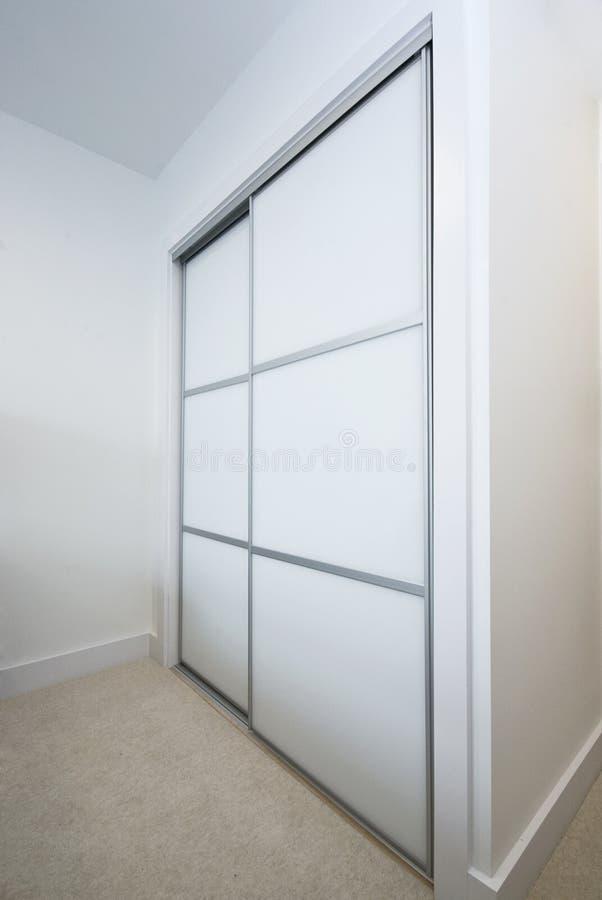 byggd stor garderob arkivbild